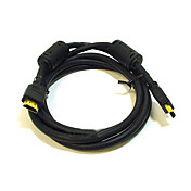3-Foot Gold-Plated HDMI Cable Male to Male 28AWG with Ferrite Core(MONO003)
