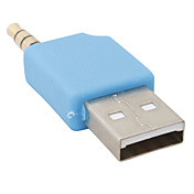 mini usb data og lading adapter for shuffle-2 (bl)