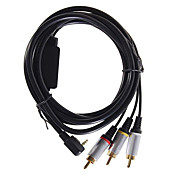 AV Audio Video Composite TV-out Cable for PSP 2000/3000 Slim