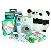 Fujifilm Instax Mini 7s Blue Instant Camera with 30 Films (DCE113)