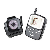 2.5 Inch TFT LCD 2.4GHz Digital Wireless DVR Baby Monitor Kit with Night Vision Wireless Camera