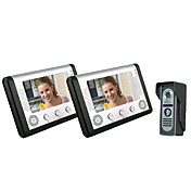 Villa One with Two 7 inch Color LCD Video Door Phone