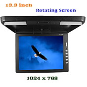 Roof Mounted 13.3 Inch TFT LCD Display Monitor PAL-NTSC