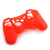 Protective Silicone Case for PS3 Controller (Red)