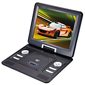 12.2-inch Portable DVD Player with TV Function, USB Port, 3-in-1 Card Reader, Games (TRA534)