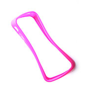 Etui Antichocs en Silicone pour iPhone 4 - Rose