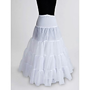Nylon / Tll bodenlange Hochzeit Petticoat (8836)