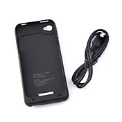 1900mAh External Rechargeable Battery Pack/Case for iPhone 4