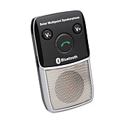 Solar Bluetooth Handfree Car Kit-Multipoint Speakerphone