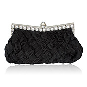 Gorgeous Satin With Shining Rhinestones Evening Handbags/ Clutches More Colors Available