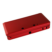 caja de aluminio de proteccin para 3ds (rojo)