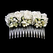 linda flor de papel de noiva pin headpiece / hair