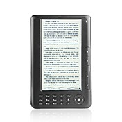7 e-book reader polegadas + media player HD (4 GB)
