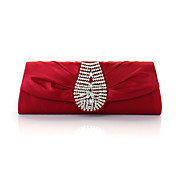 Gorgeous Silk With Austria Rhinestones Evening Handbags/ Clutches