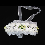 Lovely Paper Flower Wedding Flower Girl Headband/ Headpiece