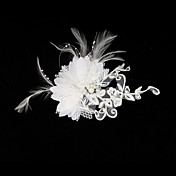 Gorgeous Satin/ Lace Wedding Bridal Headpiece