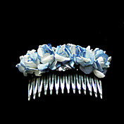Lovely Paper Flower Wedding Flower Girl Combs/ Headpiece