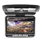 9 Inch Flip Down Car DVD player with FM  Game Free Headphones