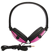 prmio elegante fones de ouvido estreo (rosa)
