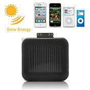 Mini Batería de Energía Solar para iPhone, iPod, Móviles Android y Dispositivos USB - Negra
