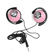 Super Bass elegante fones de ouvido estreo (rosa)
