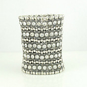 Five Rows of Rhinestone Bracelet
