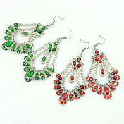 Antique Silver-plated Delicate Earring
