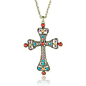 Colorful Cross Sweater Chain
