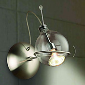Artistic Wall Light with Stylish Globe Shade