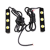 carro de circulao diurna Light / nevoeiro (2 pcs, 3 led)