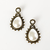 Imitation Pearl With Alloy Earrings