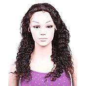 "Full Lace With Stretch On Crown Body Wave 16"" Indian Remy Lace Wig 9 Colors To Choose"