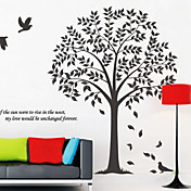 træ dekoration wall stickers