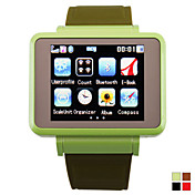 k1 - 1,8 inch watch mobiele telefoon (bluetooth fm mp3 / mp4)