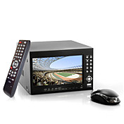 iProSecur - 4 Channel DVR Security System with 7 Inch LCD Screen (H. 264, 2x SATA HDD Interfaces)