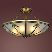 Antique Inspired Ceiling Light with 4 Lights