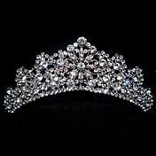 Delicate Antique Silver Tiara