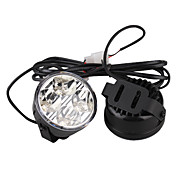 voiture clairage diurne (2 pcs, 4 LED, lumire blanche, impermable)