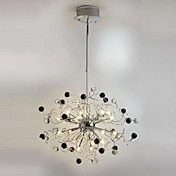 Lmpara Chandelier de Cristal con 20 Bombillas - HINESVILLE