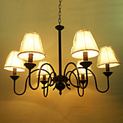 Chandelier with 6 Lights in Antique Style