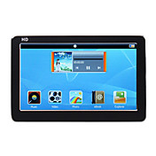 hd player de vdeo mp5 com 4,3 polegadas touch screen + 8gb