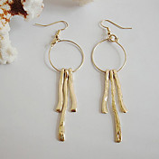 Exquisite Gold Alloy Ladies'Fashion Earrings
