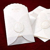 Classic Embossed Tri-fold With Insert Wedding Invitation (Set of 50)