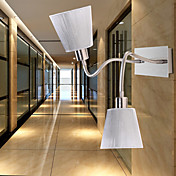 2 - Light Wall Light with Bendable Lamp Pole