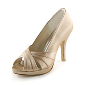TOVE - Pumps Bryllup Stilletthler Satin