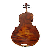 4/4 High-Grade Handmade Natural Flame Maple Archaize Violin