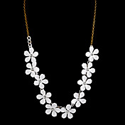 Oriental Cherry Blossm Ladies' Alloy Necklace (47 cm)