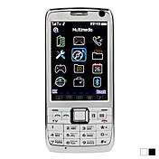 E71 - Dual SIM 3.0inch bar mobiltelefon (TV FM)