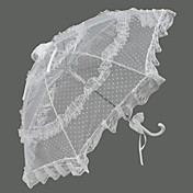 Lace Wedding Umbrella With Dots