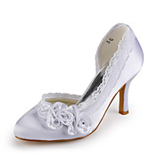 TONBRIDGE AND MALLING - Closed Toe Bryllup Stilletthæler Satin